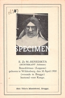 E. Zr. M. Benedikta - Hurtekant Julienne - Wildenburg - Wingene