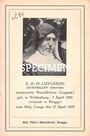 E. Zr. MM. Lutgardis - Hurtekant Albertine - Wildenburg - Wingene