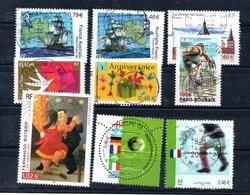 B387-8 France N° 3476 à 3484 Avec Oblitérations Rondes - Used Stamps