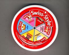 Boite Entiere Vide Fromage Tartiner Swiss Style  Suisse - Dozen