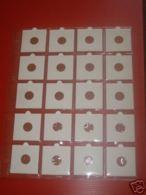 LOT 50 FEUILLES TRANSPARENTES (FORMAT A4) POUR JETONS - MEDAILLES TOURISTIQUES / 20 CASES - Non Classés