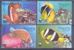 Nauru 2003 Mi 553-556 MNH ( ZS7 NAR553-556 ) - Peces