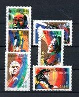B387-10 France N° 3500 à 3505 Avec Oblitérations Rondes - Used Stamps