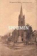 Gedenksteen En Kerk - Wingene - Wingene