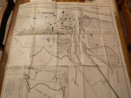 OSTENDE: SUPER RARE PLAN D'OSTENDE DE 1918 ?? 70X65 CM  AVEC DETAILS - Cartes