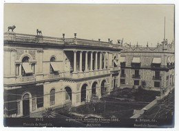 Photo  A. BRIQUET - MEXICO - Plazuela De Guardiola -  1896 - Ancianas (antes De 1900)