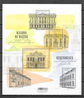 """België 2018 Velletje """" Herenhuizen """" (**) - Unused Stamps"""
