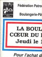 Affichette Boulanger Haut Rhin  Bicentenaire Revolution  1989 - Autres
