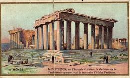CHROMO ATHENES LE PARTHENON - Thé & Café