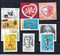 B387-11 France N° 3536 à 3546 Avec Oblitérations Rondes - Used Stamps