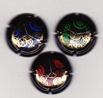 3 Capsules Muselets L'instant Rouge Bleu Vert - Mousseux