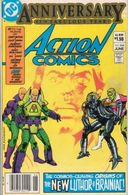 Action Comics N° 544  Anniversary 45 Th Fabulous Year !   ( Vo ) - DC