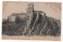 CPA 04 : 1867 - SISTERON - Le Rocher De La Citadelle - Les Alpes Pittoresques - Ed. E.L.D. - 1926 - Sisteron
