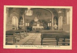 C.P. Gentinnes  =  Ecole Apostolique Des Pères Du St. Esprit  :  La  Chapelle - Chastre