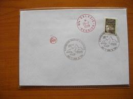 Réunion : Lettre Avec Cachet «Courrier Déposé à Mafate Au Cœur De L'Ile» + Cachet De Salazie + OR (origine Rurale) - Reunion Island (1852-1975)