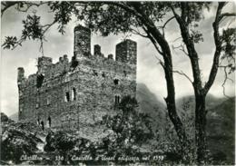 CHÂTILLON  AOSTA  Castello D'Ussel Edificato Nel 1350 - Italia