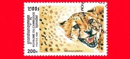 Nuovo Oblit. - CAMBOGIA - 1998 - Felini Predatori - Gatti Selvatici - Ghepardo (Acinonyx Jubatus) - 200 - Cambogia