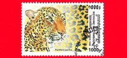 Nuovo Oblit. - CAMBOGIA - 1998 - Felini Predatori - Gatti Selvatici - Ghepardo (Acinonyx Jubatus) - 1000 - Cambogia