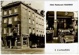 CPA Belgique Bruxelles. RARE Hôtel Restaurant Ragheno (3 Canards) - Cafés, Hotels, Restaurants