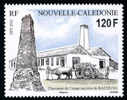 NOUV.-CALEDONIE 2013 - Yv. 1174 **   Faciale= 1,01 EUR - Cheminée De L'usine Sucrière De Bacouya  ..Réf.NCE25711 - Nouvelle-Calédonie