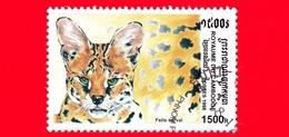 Nuovo Oblit. - CAMBOGIA - 1998 - Felini Predatori - Gatti Selvatici - Servalo (Leptailurus Serval) - 1500 - Cambogia