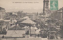 GRENOBLE  PLACE ST BRUNO  LA FOIRE - Grenoble