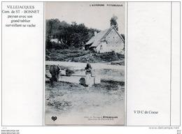 63  - St.BONNET D'ORCIVAL - Villejacques (Abreuvoir) - Autres Communes