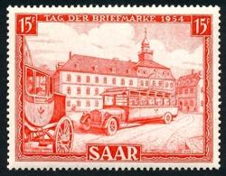 SARRE 1954 - Yv. 329 **   Cote= 6,00 EUR - Journée Du Timbre  ..Réf.DIV20202 - Neufs