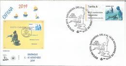 SANTANDER  MAT Y ATM EXFILNA 2019 - 1931-Hoy: 2ª República - ... Juan Carlos I