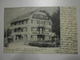 Suisse. Lenk, Hotel Pension Krone (8385) - BE Berne