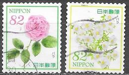 Japon - Fleur De L' Hospitalité X - Oblitérés - Lot 793 - Usati
