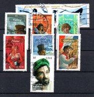 B387-13 France N° 3587 à 3594 Avec Oblitérations Rondes - Used Stamps