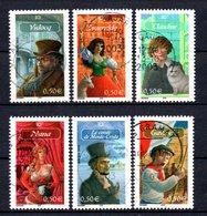B387-13 France N° 3588 à 3593 Avec Oblitérations Rondes - Used Stamps