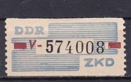 DDR, Dienst: ZKD Nr. 28 V**,  (T 14259) - Official
