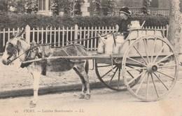 CPA - La Laitière Bourbonnaise - Vichy - Marchands Ambulants