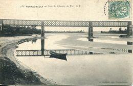 N°3283  T -cpa Pontaubault -pont Du Chemin De Ver- - Autres Communes