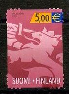 Finlande - Finnland - Finland 2002 Y&T N°1558 - Michel N°1608 Nsg - 5€ Lion Héraldique - Finlande