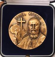 SAN DANIEL COMBONI 1831-1881 Medaglia Grande Modulo - Profesionales/De Sociedad