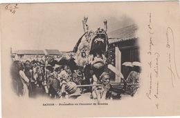 CPA : Viet Nam , Saïgon , Procession En L'honneur De Boudha - Vietnam