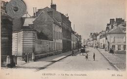 60 - Carte Postale Ancienne  De  CHANTILLY     La Rue Du Connétable - Chantilly