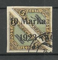 Estland Estonia 1923 Michel 43 O - Estonia