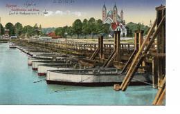 SPEYER A. Rh. Schiffbrücke Mit Dom - Speyer