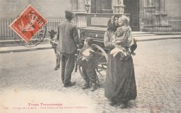 CPA Top Collection - Une Famille De Joueur D'Orgue Dans La Rue - Types Toulousains - Métiers
