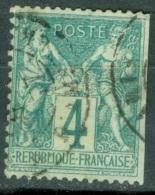 France  63  Ob  DEF - 1876-1878 Sage (Typ I)