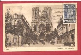 Y&T N°395 REIMS  Vers BAYON   1938 - Marcofilia (sobres)