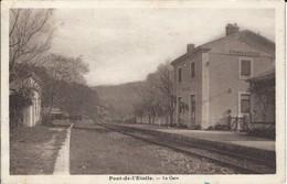 CPA-PONT DE L'ETOILE- La Gare - Roquevaire