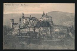 LUXEMBOURG VIANDEN  LES RUINES - Vianden