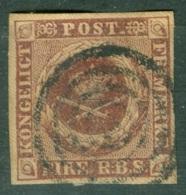 Danemark  Yvert 2  Ob  TB - 1851-63 (Frederik VII)