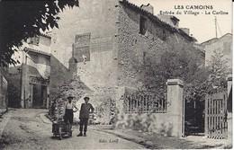 CPA-MARSEILLE- LES CAMOINS- Entrée Du Village- La Carline - Les Caillols, La Valentine