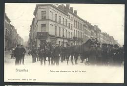 +++ CPA BRUSSEL - BRUXELLES - Foire Aux Chevaux Sur Le Boulevard Du Midi - Marché - Distillerie - Nels Série 1 N° 276 // - Lanen, Boulevards